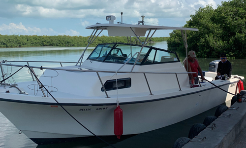 Belize-Guide-Co-parker-walkaround-boat