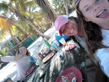 Belize-Guide-Co-bbq-three-ladies