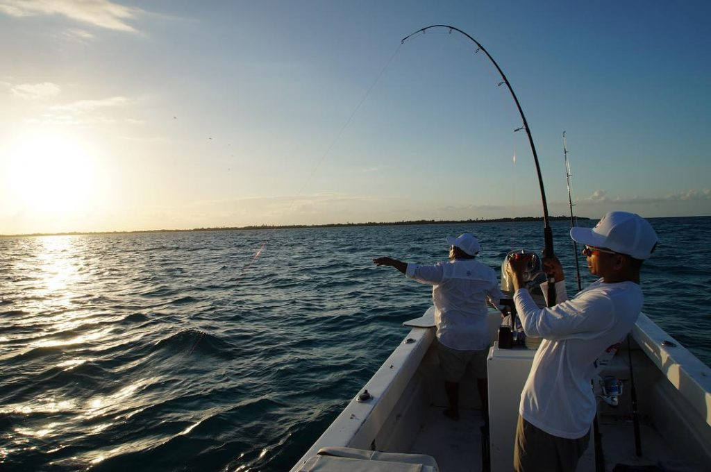 Belize-Guide-Co-fishing-sunset