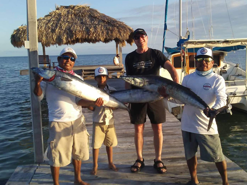 Belize-Guide-Co-three-fish-catch-